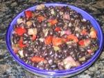 black bean salsa picture