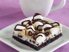 rocky road oreo bars picture