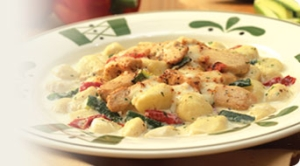 chicken & gnocchi veronese  picture