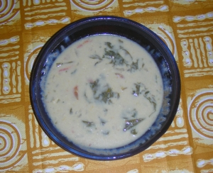 crab coconut soup picture