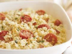 italian bacon and tomato risotto picture