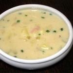 delicious ham and potato soup picture