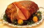 winter lager glazed ham picture