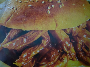 bbq pulled pork sandwiches picture
