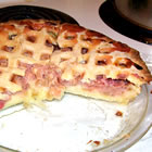 Rhubarb Custard Pie II picture