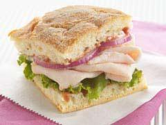 tangy raspberry turkey sandwich picture