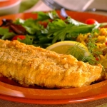 oven-fried fish   picture