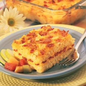 potato bacon casserole  picture