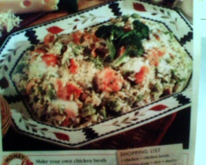 chicken & broccoli mornay picture