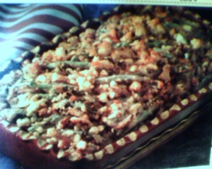 green beans casserole picture