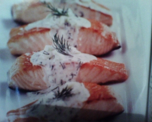 20 minute skillet salmon picture
