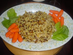 adas polo (lenttels with basmati rice) picture