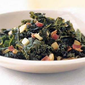 braised kale picture