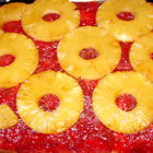 Rhubarb Pineapple Upside-Down Cake picture