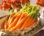 ginger & honey glazed carrots picture