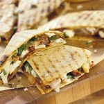chorizo and cheese quesadillas picture