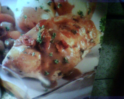 chicken in wine sauce (slow cooker) picture