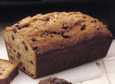chocolate chip banana bread  picture