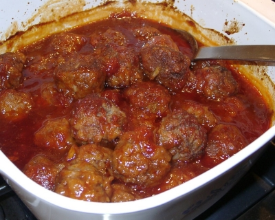 spicy meat balls picture