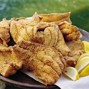 corn meal battered catfish picture