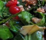 craveable spinach salad picture