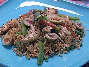 arroz con pollo  picture