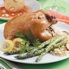 rice-stuffed cornish hens picture