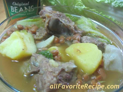 nilagang baboy picture
