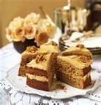 coffee walnut cake picture