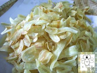 fried banana chips (kerepek pisang) picture