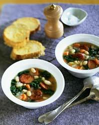 White Bean, Kale & Sausage Soup picture