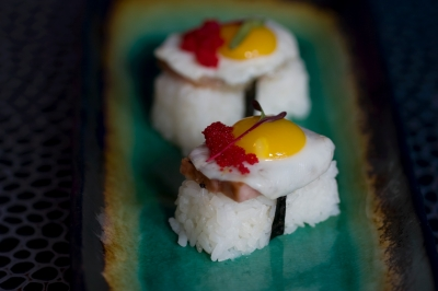 Spam & Egg Sushi (Nigiri) picture