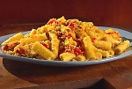 Rigatoni with Red Pepper, Almonds, and Bread Crumbs picture