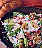 Roast-Beef Salad with Creamy Horseradish Dressing picture