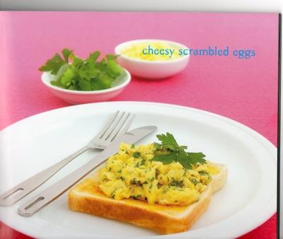Cheesy Scrambled Eggs picture