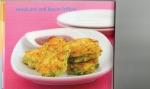 Sweet corn and baon fritters picture