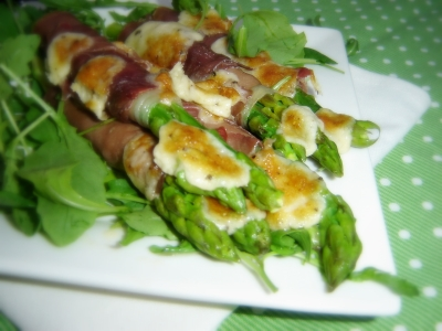 ASPARAGUS AND PARMA HAM GRATIN!!  picture