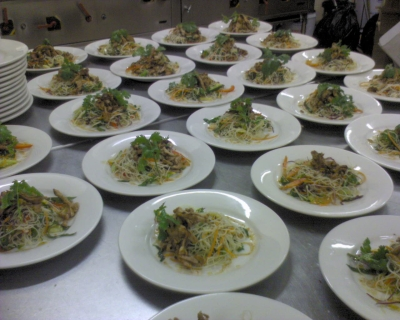 Function food thai chicken salad picture