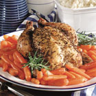 roast chicken with rosemary picture