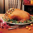 roast goose with apple-raisin stuffing picture