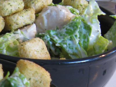 White Wine Chicken Avocado Ceasar Salad picture
