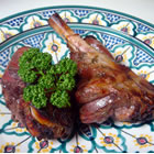 roast leg of lamb with rosemary picture