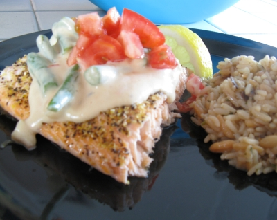 Lemon Pepper Salmon picture
