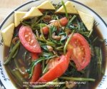 Water Spinach sauted with soy sauce (Tumis Kangkung) picture