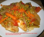 Fried Fish with Sweet and Sour sauce (Ikan goreng saus asam manis) picture