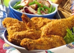 Oven-fried Ranch chicken picture