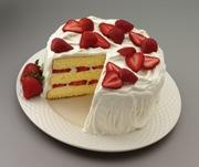 Strawberries 'N Cream Cake picture