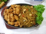 Sizzling Tempura Chicken Fried Rice picture