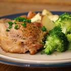 Blue Cheese, Bacon and Chive Stuffed Pork Chops picture