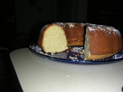 CREAM CHEESE POUND CAKE picture
